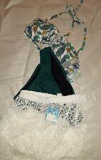 Coastal blue 3 pc swimwear Size Medium