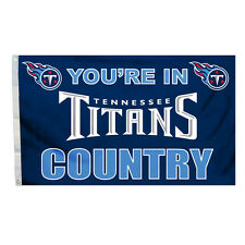 Tennessee Titans 3x5 Country Design Flag [NEW] NFL Banner Sign Fan Wall House