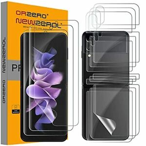 For Samsung Galaxy Z Flip 3 5G Screen Protector TPU 3D Soft Film Cover HD 3 Pack