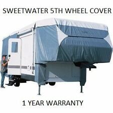 SWEETWATER DELUXE WEATHERPROOF 20 21 22 23 FT 5th FIFTH WHEEL CAMPER COVER