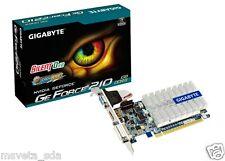 Gigabyte nVidia Geforce GT210 1G DDR3 GV-N210SL-1GI PCI-E Video Card HDMI DVI