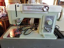 White sewing machine  model 960  w/case