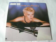 """ANNABEL LAMB - THE FLAME - A&M RECORDS 1984 -7"""" PICTURE BAG"""