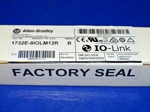 2021 FACTORY SEALED Allen Bradley 1732E-8IOLM12R /B IO-Link Master ArmorBlock