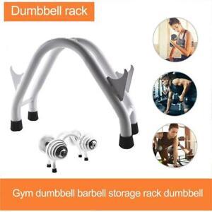 Steel Dumbbell Storage Rack Stand Home Gym Hand Weight Shelf Holder Organizer