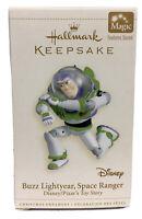 Hallmark Keepsake Buzz Lightyear Disney Toy Story Christmas Ornament With Sound