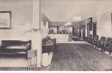 HARTFORD, Connecticut, 1900-1910s; Interior- Sections Of Lobby, Bond Annex Hotel