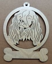 Cockapoo dog ornament wooden Christmas Gift D-30