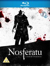 Nosferatu Blu-Ray (2015) Max Schreck, Murnau (DIR) cert PG ***NEW*** Great Value