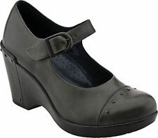 "High 3""and Up Women's Leather Flats"