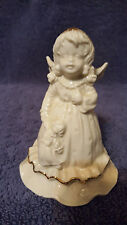 St. Nicholas Square porcelain angel bell set of 3