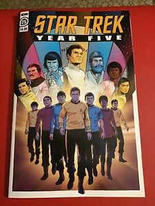 STAR TREK YEAR FIVE #25 IDW Comics(July 2021) FINAL ISSUE OF FIVE YEAR MISSION!