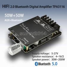 Hifi Wireless Bluetooth 50 Tpa3116 Digital Audio Amplifier Board 50wx2 Stereo