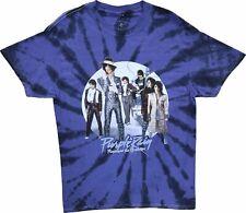 Men's Prince And The Revolution Purple Rain Vintage Retro Tie Dye Purple T-Shirt