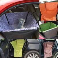Pet Dog Cat Car Rear Back Seat Safe Cover Pad Rest Hammock Cushion Waterproof