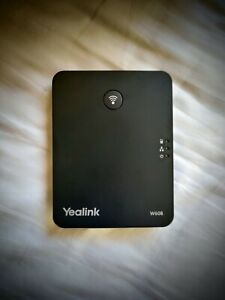 Yealink W60B DECT Base Station - NEW - No handsets. Includes all accessories.
