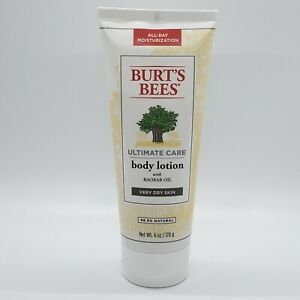 Burt's Bees Ultimate Care Body Lotion with Baobab Oil Very Dry Skin 6 Oz