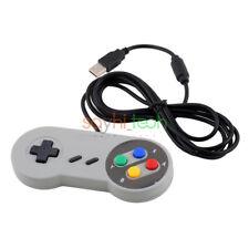 Durable Super Nintendo SNES USB Game Controller Gamepad for PC Macbook Laptop