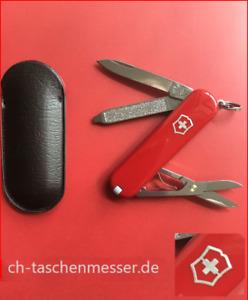 Victorinox Classic SD rot kleines schweizer Taschenmesser mit Schere 0.6223
