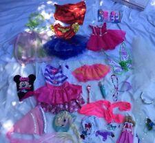 PRINCESS DRESS UP Mix Disney Pretend Costume Lot Girls Sz  2t 3t 4t