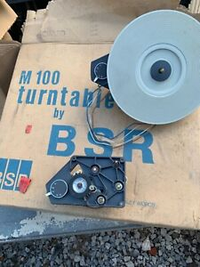 New M100 BSR Turntable replacement motor repair part Record Player