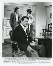 JAMES GARNER MARCIA STRASSMAN GEORGE LOROS THE ROCKFORD FILES 1979 NBC TV PHOTO
