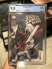 Silver Surfer Black #4 CGC 9.8 1:25 Peach Momoko variant! Discounted, case scuff