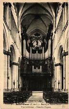 CPA ST-OMER Basilique Notre-Dame. Vue interieure - Grandes Orgues (405222)