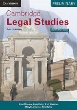 Cambridge Preliminary Legal Studies 4ed Pack (Textbook and Interactive Textbook…