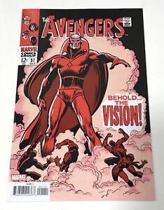 The Avengers #57  1st Appearance Vision Marvel Comics Key Facsimile Reprint