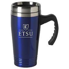 East Tennessee State University-16 oz. Stainless Steel Mug-Blue