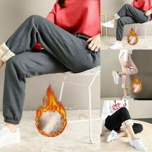 Pants Breathable Casual Clothing Comfortable Fleece Lined Harem Joggers
