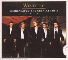 WESTLIFE - Unbreakable: The Greatest Hits Volume 1 (UK 19 Tk 2007 CD Album)