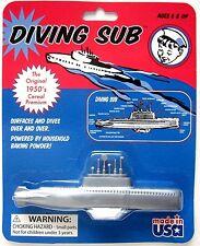 1950 Cereal Toy Baking Powder DIVING SUB Soda NEW Submarine vtg STOCKING STUFFER