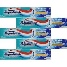 5 Pack Aquafresh Fluoride Toothpaste Extra Fresh +Whitening Fresh mint 5.6 Oz