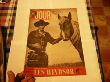 magazine hebdomadaire NUIT ET JOUR  n°41 octobre  1945 les windsor