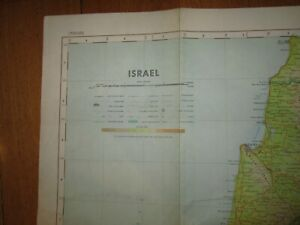 ISRAEL Map - Compiled 12/1962 - Printed 09/1964 - Scale 1:5,000,000