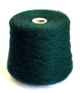 Italian alpaca wool yarns, 2.03 lb / 920 grams cone