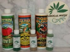 Fox Farm,Trio,Grow big,Tiger Bloom,Big Bloom,Bundle,hydro,soil, 2oz, nutrients