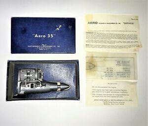 Very Rare Vintage AERO 35 Nitro Model Airplane engine 5.73cc  N.O.S.