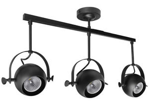 Modern 3 Way Adjustable LED GU10 Ceiling Spotlight Bar Kitchen Lighting M0075