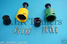FREE P&P* 2 x AJBA Lamp Replacement Plugs - Daxara & Erde Trailers