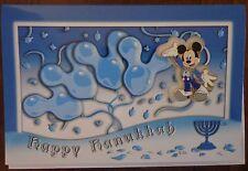 Disney Pin WDI Mickey Happy Hanukkah Pin and Card Set Le 300