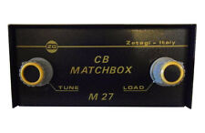 Zetagi M 27 Matcher Matchbox Antennenanpassgerät für CB Band 500 W OVP