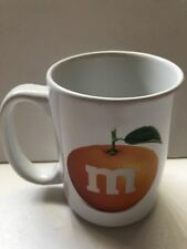 M&M's World Orlando Orange Ceramic Coffee Mug New