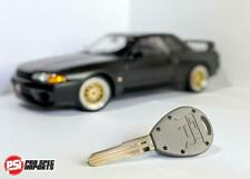 Skyline GTR R32, R33 Billet Titanium Key - Satin Frost Finish
