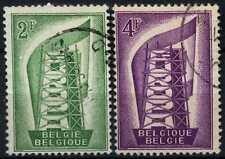 Belgium 1956 SG#1582-3 Europa Used Set #D74729