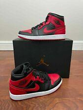 "Nike Air Jordan 1 Mid ""Banned"" GS UK 5.5 ✅ FAST Shipping! 📦"
