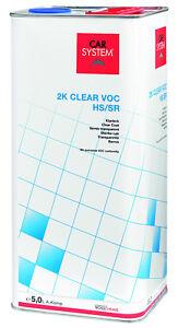 CarSystem 2K Premium Klarlack Set 7,5 L HS/SR 5 Liter inkl. 2,5 Liter Härter