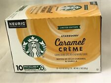 Starbucks K-Cups Limited Edition Caramel Creme, 10 - K-Cup Pods